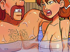 Stick your cock in her - My hot ass neighbor 9 by jab comix