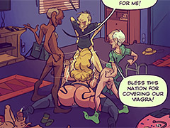 Bless this nation for covering our viagra - Keeping it up with the Joneses 6 by jab comix