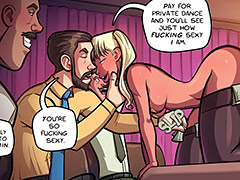 Pay for private dance and you'll see just how fucking sexy I am - My Son's Girlfriend by jab comix